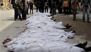 Март оказался самым кровавым за время конфликта в Сирии месяцем: 6,000 убитых