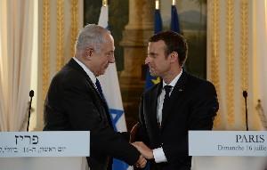 Нетаниягу и Макрон договорились встретиться в Париже в декабре