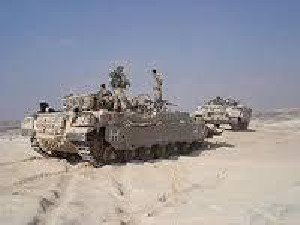 Голаны: танк ЦАХАЛа обстрелял позиции армии Асада