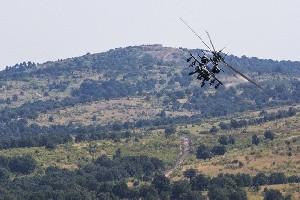 Военный вертолет разбился из-за отпавшего рычага управления