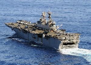 Десантный корабль США прибыл на военные учения в Израиль
