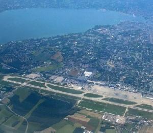 Аэропорт Женевы пришлось закрыть на несколько часов