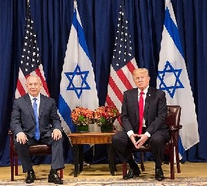 Нетаниягу Трампу: Израиль не хочет управлять палестинцами