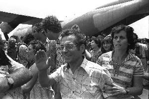 Израильский самолет впервые с 1976 приземлился в аэропорту Энтеббе