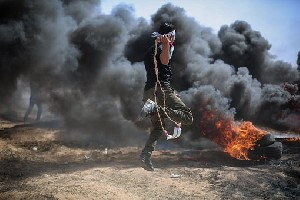 На границе с Газой уже тысячи протестующих