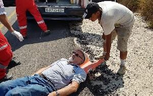Поселенцы напали на 80-летнего раввина