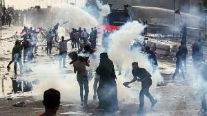В Багдаде возобновились беспорядки, есть раненые