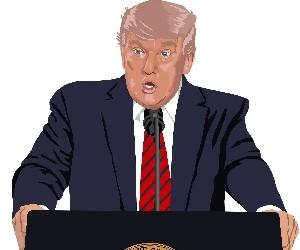 Трампу нравится, как он выглядит в маске